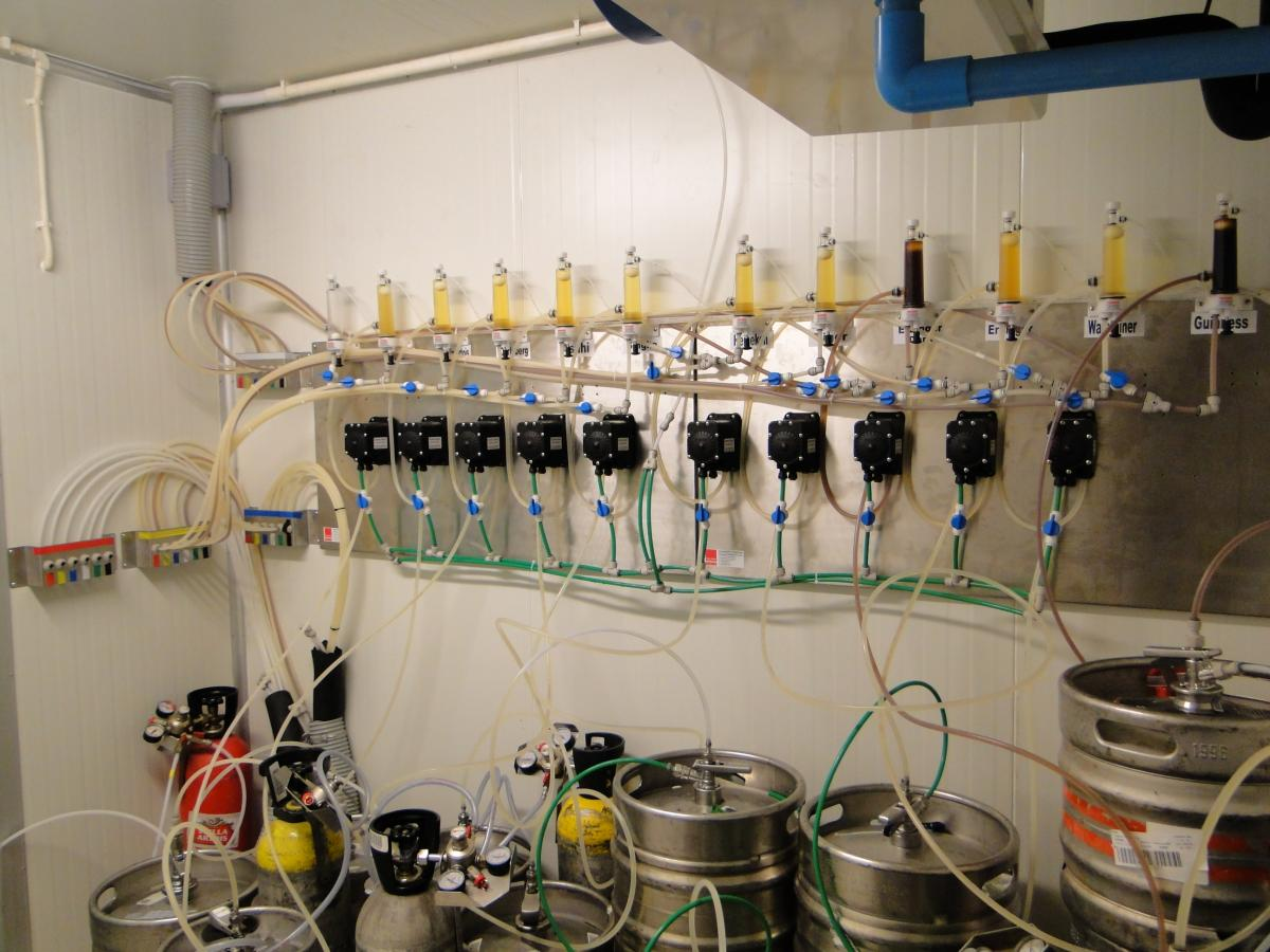 Complete Installations For Draught Beer Presmann Bar